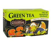 CELESTIAL SEASONINGS GREEN TEA DECAF TE VERDE MANDARIN 20 BAGS